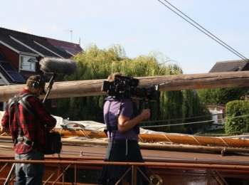 B.B.C. Filming Wroxham - 3rd July 2017
