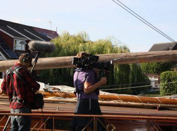 B.B.C. Filming Wroxham - 3rd July 2017