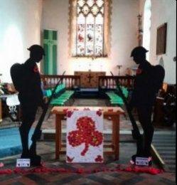 Centenary Remembrance Service, Stalham - 11th November 2018
