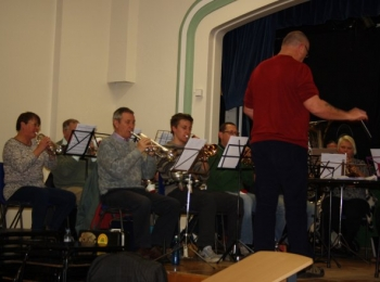 Rehearsal in Stalham High School - 6th March 2015