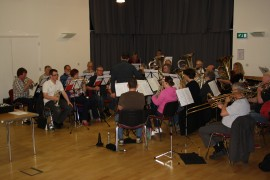 Image of Norfolk Wherry Brass rehersals