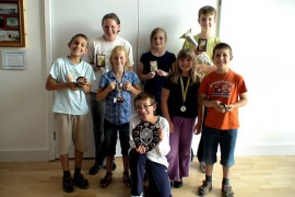 Youth Band 2010 award winners